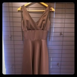 Alfred Sung bronze evening dress size 2
